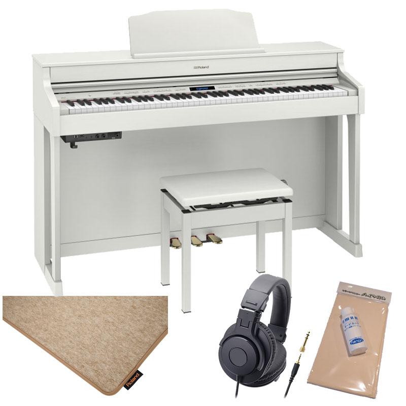 Roland HP603A-WHS [ホワイト]【純正ピアノ・マット(HPM-10)セット】【数量限定!豪華特典付き!】【全国配送・組立設置無料(※沖縄・離島は除く)】※代金引換はご利用いただけません【p10】
