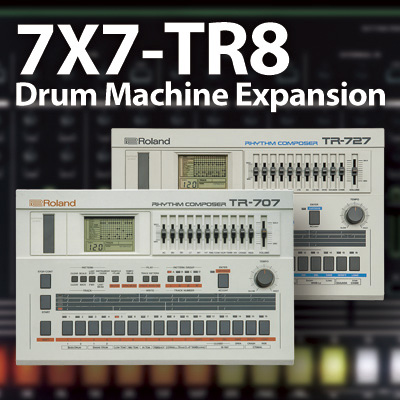 Roland AIRA 7X7-TR8 Drum Machine Expansion for TR-8【P5】
