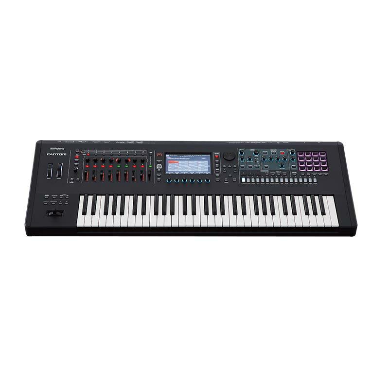 Roland FANTOM-6 MUSIC WORKSTATION【p10】【※代引き不可】【数量限定!Special Pack USB プレゼント】