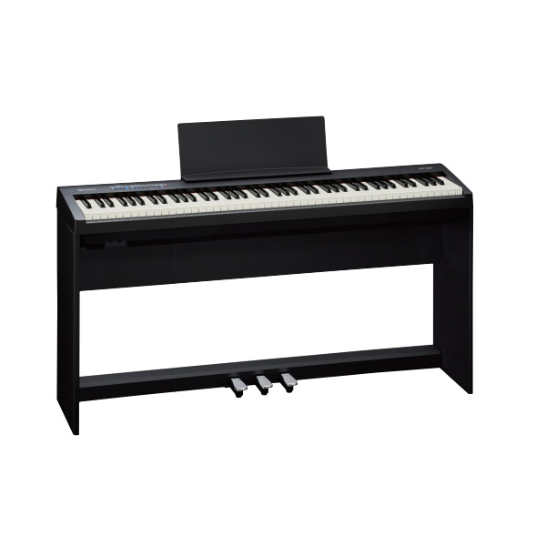 Roland FP-30-BK ピアノ+スタンド+3本ペダルセット【配送センター出荷・土日、祝日は発送休業】【p10】