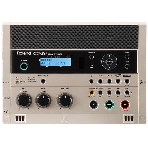 Roland CD-2u【特典:8GB SDカード付】【あす楽対応】【p10】
