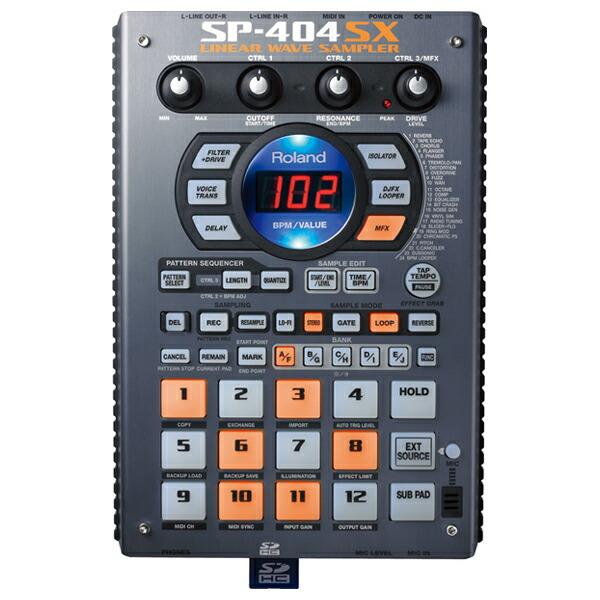 Roland SP-404SX 【音ネタ入りSDカード8GB付き!】 【あす楽対応】【土・日・祝 発送対応】【p10】