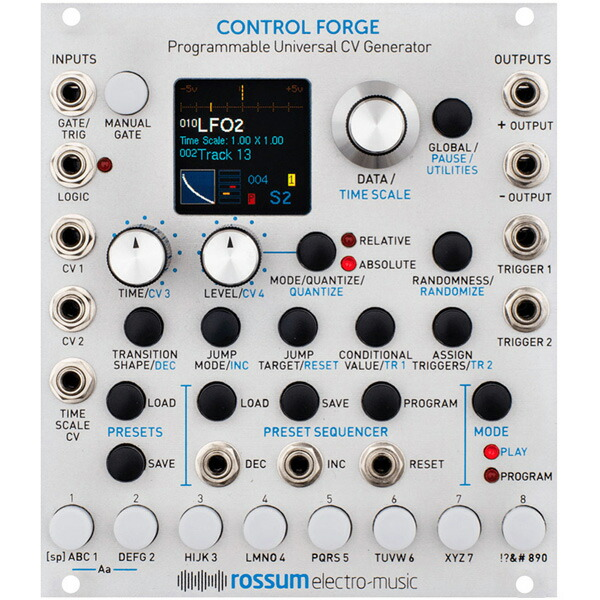Rossum Electro-Music Control Forge【お取り寄せ商品】