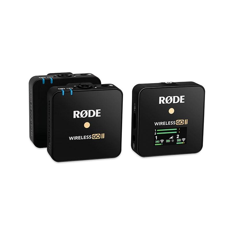 ロード ワイヤレスゴー ワイヤレスマイク RODE Wireless GO II WIGO デュアルチャンネル ワイヤレス 祝 マイクロホン 土 システム 発送対応 2020秋冬新作 あす楽対応 卸売り P10 日