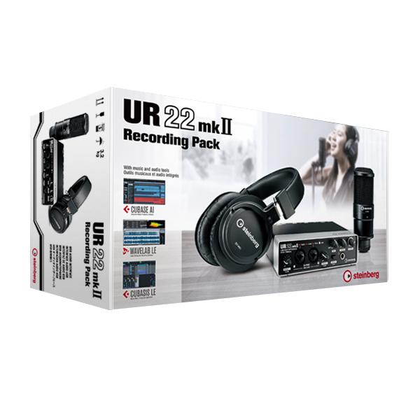 Steinberg UR22mkII Recording Pack【p5】