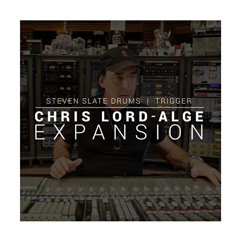 STEVEN SLATE DRUMS Chris Lord-Alge EXPANSION【SSD5拡張音源】(オンライン納品専用)※代金引換、後払いはご利用頂けません。