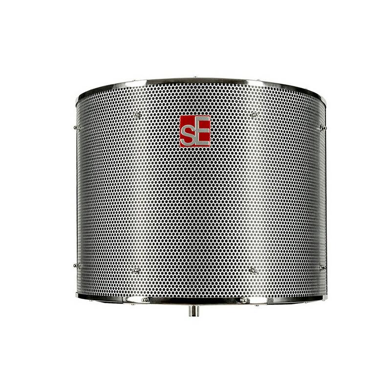周囲の反射音やノイズからマイクを隔離する 送料無料 SE Electronics Filter 豪華な 付与 Pro Reflexion