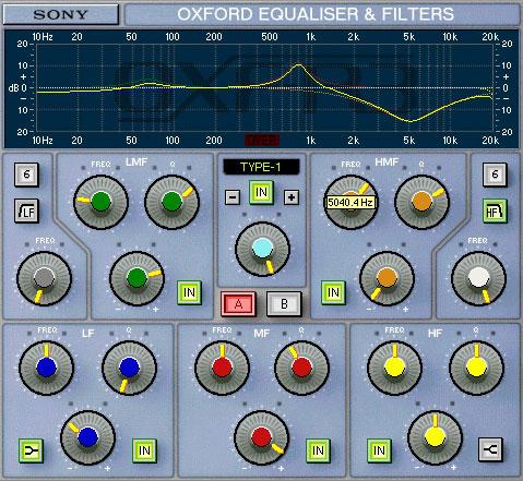 SONNOX Oxford EQ   (HD-HDX)