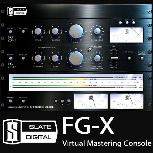 SLATE DIGITAL FG-X(Virtual Mastering Processor)(簡易パッケージ版)