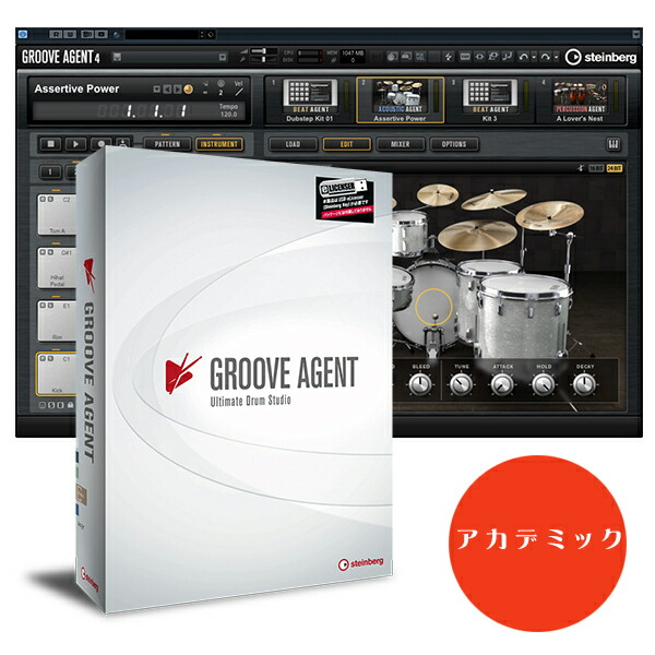 Steinberg GROOVE AGENT 4 アカデミック版【p5】