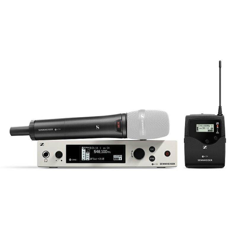 SENNHEISER EW 300 G4-BASE COMBO-JB【ベースセット(SKM 300-S/SK 300付属) SW有 ヘッド/マイク無】