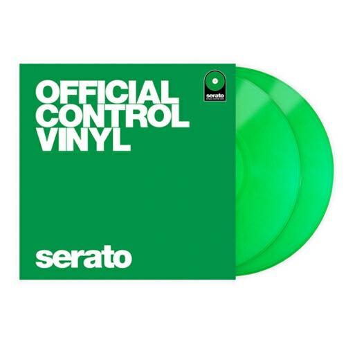 Serato社の2LP仕様オフィシャル コントロールヴァイナル 送料無料限定セール中 serato Control Vinyl Series Performance 2枚セット 即日出荷 GREEN