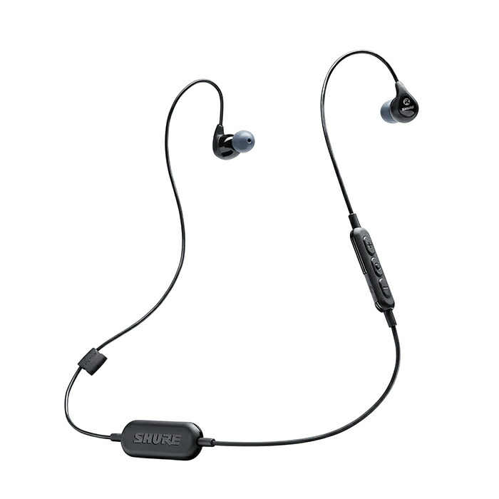 "SHURE SE112-K-BT1-A (Bluetooth1 ワイヤレスイヤホン)【国内正規品・2年間保証 SHURE】【数量限定""SHUREモバイルバッテリー""プレゼント SE112-K-BT1-A (Bluetooth1!】, ライブデザイン:a0130c72 --- officewill.xsrv.jp"