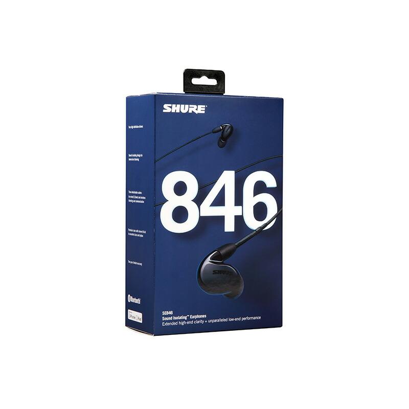 SHURE SE846-K+BT1-A(ブラック)【国内正規品・2年間保証】