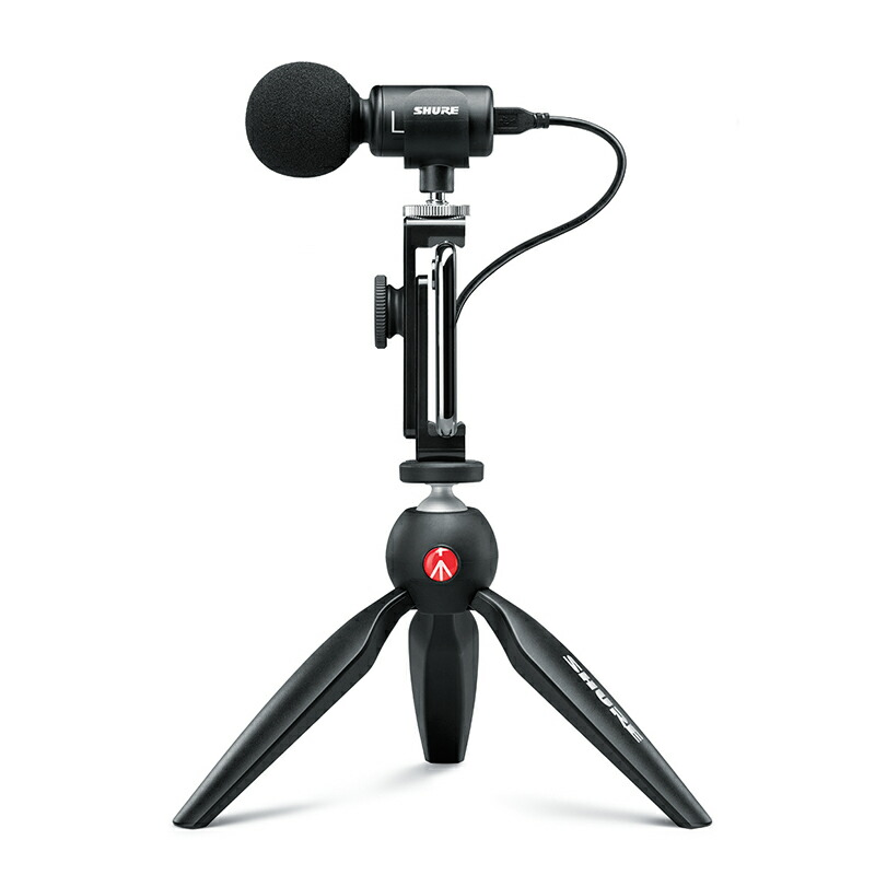 SHURE SHURE MV88+ VIDEO KIT VIDEO【あす楽対応 MV88+】【土・日・祝 発送対応】, 豊能町:6a6f2f80 --- ww.thecollagist.com