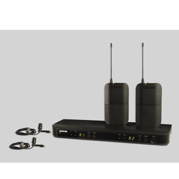 SHURE BLX188/CVL デュアルチャンネルラベリアワイヤレスシステム【お取寄商品・納期2~3ヶ月】