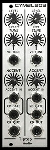 Tiptop Audio CYMBL909 Cymbals【お取り寄せ商品】
