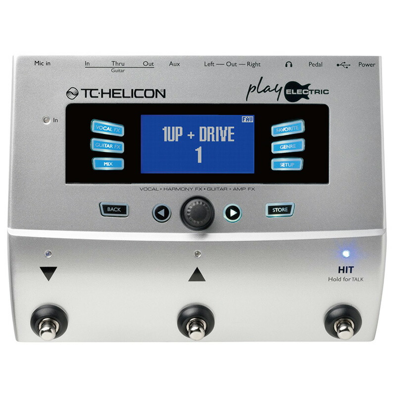 TC HELICON PLAY ELECTRICメーカー保証3年間に!延長保証キャンペーン実施中!(※要WEB製品登録)】【予約商品・7月上旬予定】