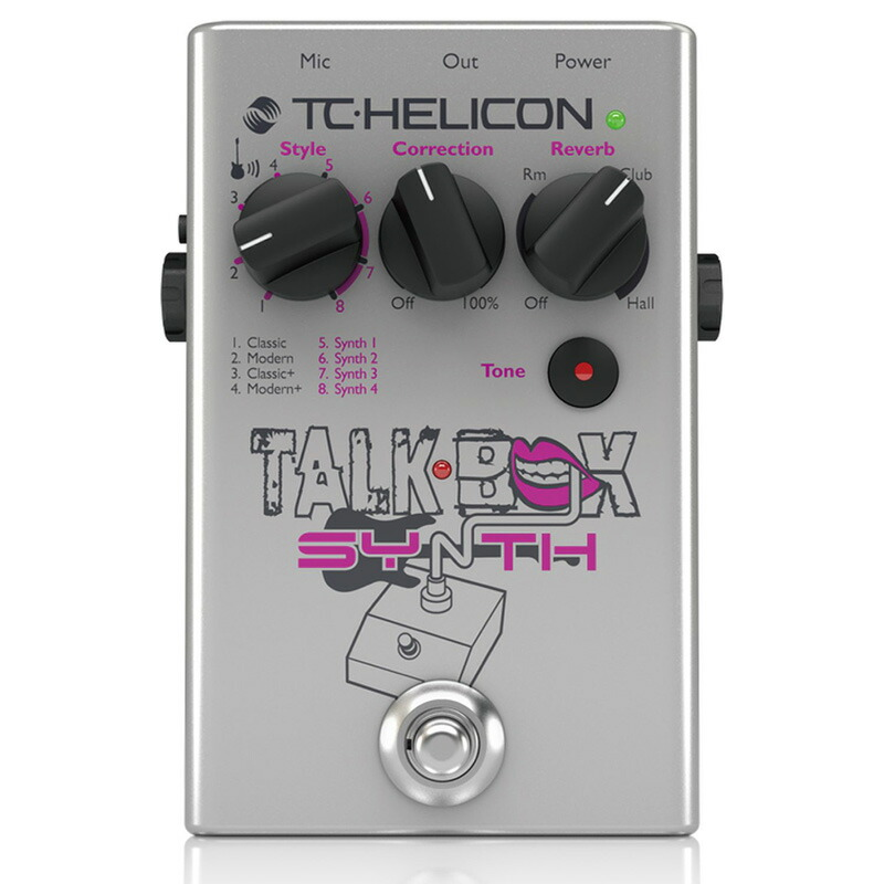 TC HELICON TALKBOX SYNTH【メーカー保証3年間に!延長保証キャンペーン実施中!(※要WEB製品登録)】