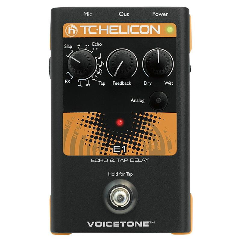 TC HELICON VOICETONE E1【メーカー保証3年間に!延長保証キャンペーン実施中!(※要WEB製品登録)】