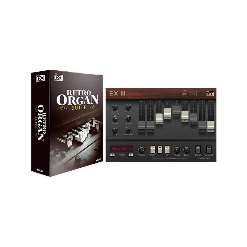 UVI Retro Organ Suite v1.5(オンライン納品専用) ※代金引換はご利用頂けません。【送料無料】