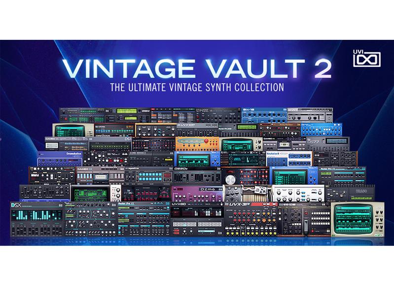 UVI Vintage Vault 2(オンライン納品専用)※代金引換はご利用頂けません。【送料無料】