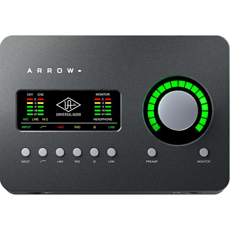 Universal Audio Arrow(アロー)※Thunderbolt 3ケーブルは別売りです【p10】【数量限定特価】【あす楽対応】