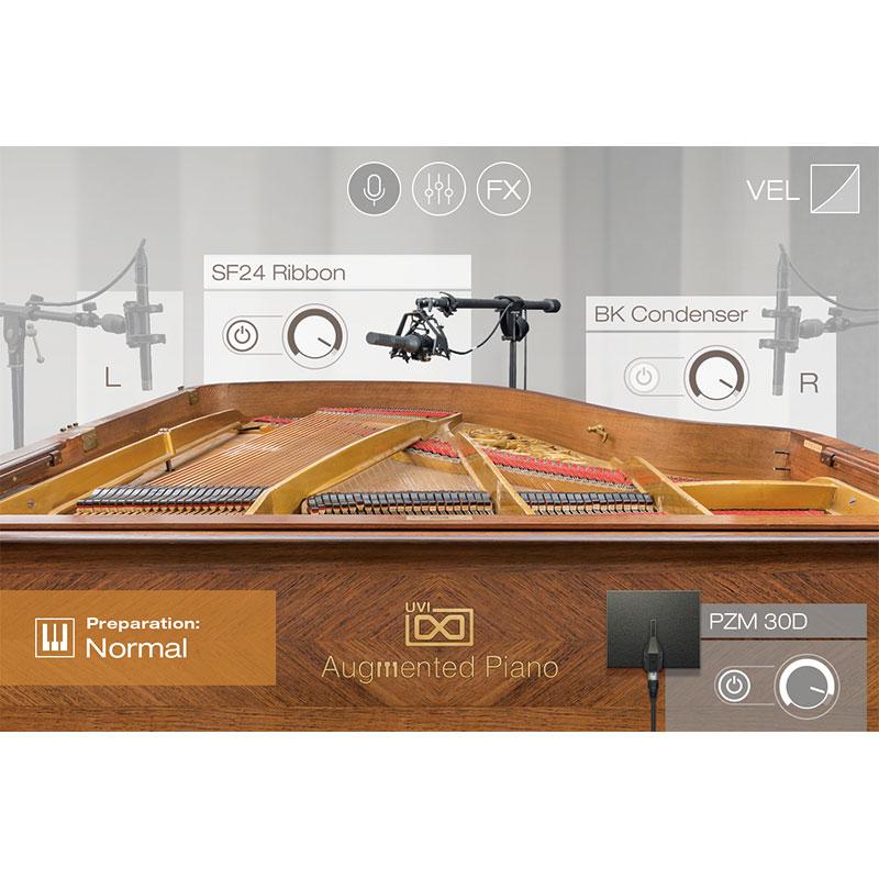 UVI Augmented Piano(オンライン納品専用) ※代金引換はご利用頂けません。