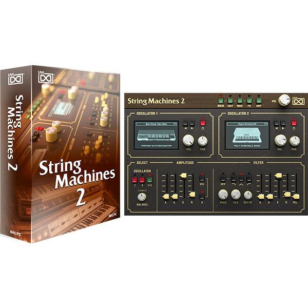UVI String Machines 2(オンライン納品専用) ※代金引換、後払いはご利用頂けません。