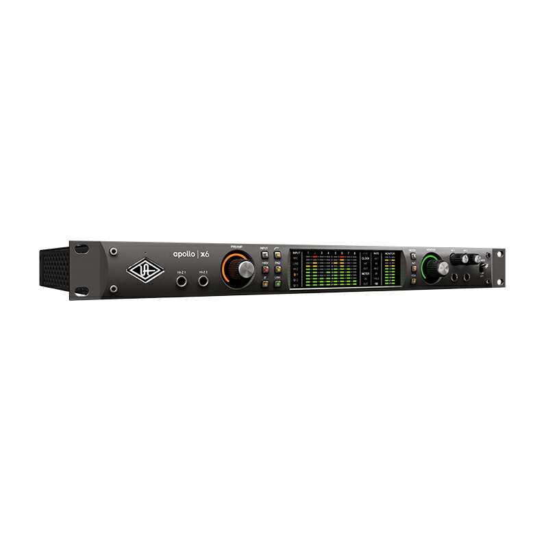 Universal Audio Apollo x6【数量限定!イヤホン「SHURE SE215-K-BT」プレゼント中!】【p10】