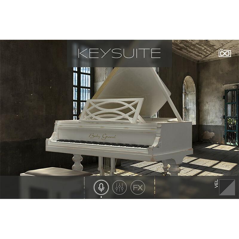 UVI Key Suite Acoustic(オンライン納品専用) ※代金引換、後払いはご利用頂けません。【4/1正午までの発売記念特価】