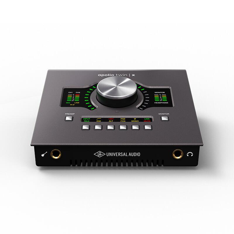 Universal Audio Apollo Twin X / Quad(Thunderbolt 3接続モデル)