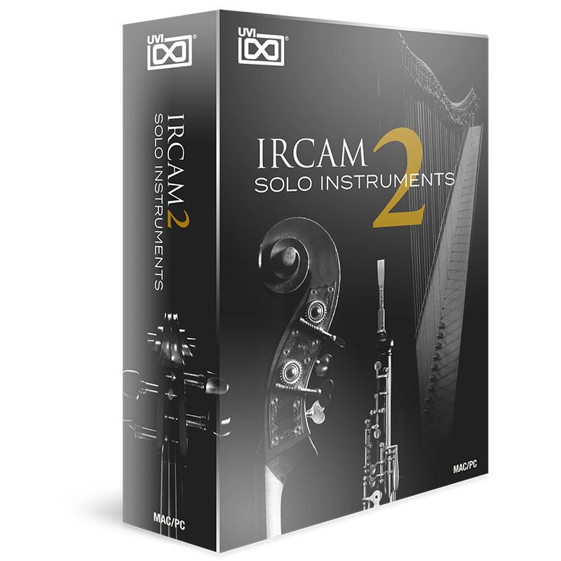 UVI IRCAM Solo Instruments 2(オンライン納品専用) ※代金引換、後払いはご利用頂けません。