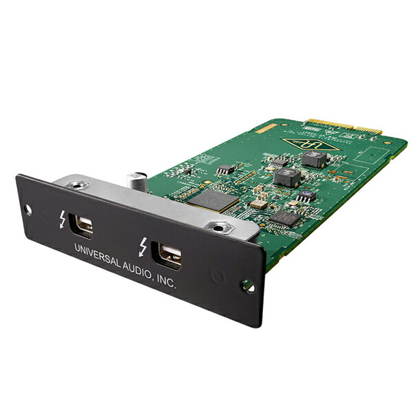 Universal Audio THUNDERBOLT 2 OPTION CARD【お寄り寄せ商品】
