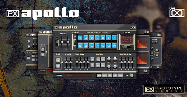 UVI PX Apollo (オンライン納品専用) ※代金引換はご利用頂けません。【送料無料】