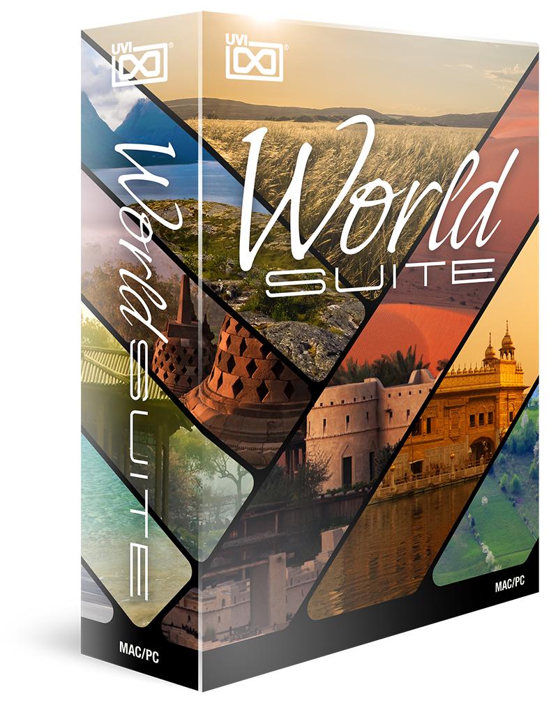 UVI World Suite(オンライン納品専用) ※代金引換はご利用頂けません。