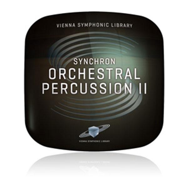 最新鋭スタジオ シンクロンステージ 新入荷 流行 のオーケストラ打楽器音源第二弾 Vienna SYNCHRON サービス 簡易パッケージ販売 II ORCHESTRAL PERCUSSION