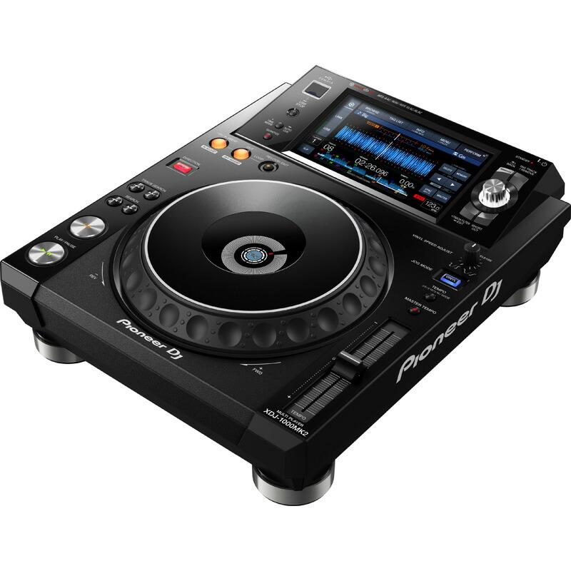 Pioneer DJ XDJ-1000MK2 【USBフラッシュメモリプレゼント!】 【土・日・祝 発送対応】