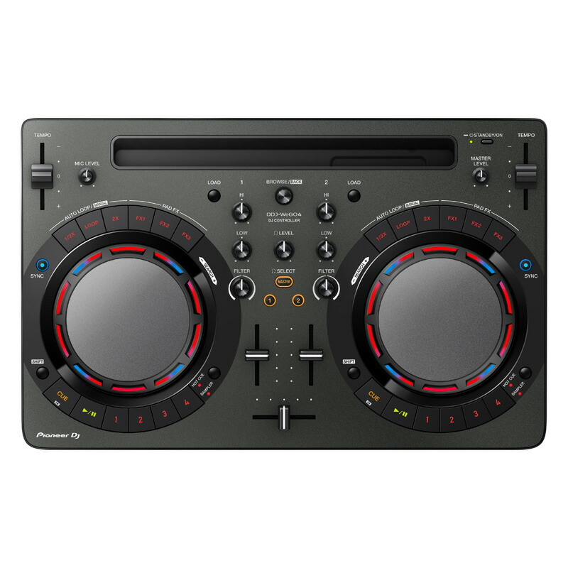 Pioneer DJ DDJ-WEGO4-K 【あす楽対応】【土・日・祝 発送対応】