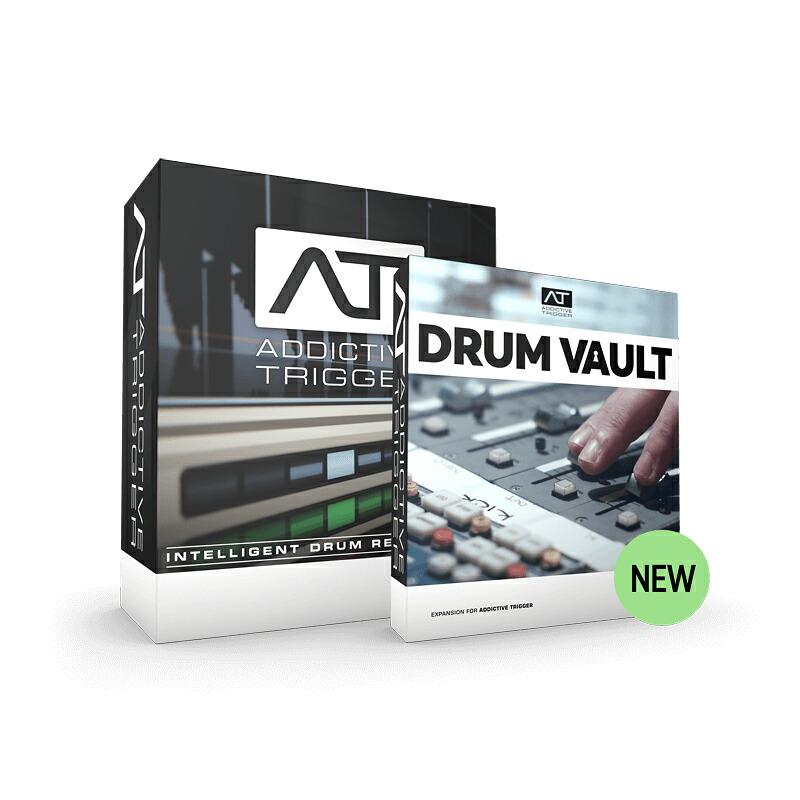 XLN Audio Addictive Trigger Drum Vault Bundle(オンライン納品専用)※代金引換、後払いはご利用頂けません。【送料無料】【数量限定特価】