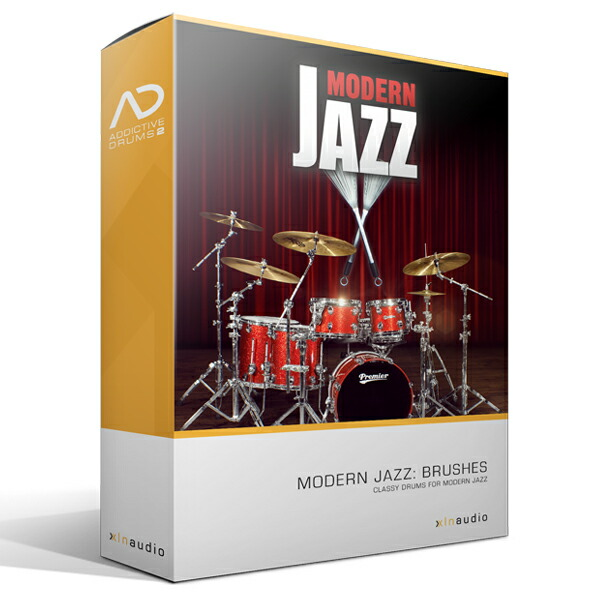 XLN AudioAddictive Drums2 Modern Jazz Brushes ADPak【Addictive Drums 2専用拡張音源】【簡易パッケージ販売】