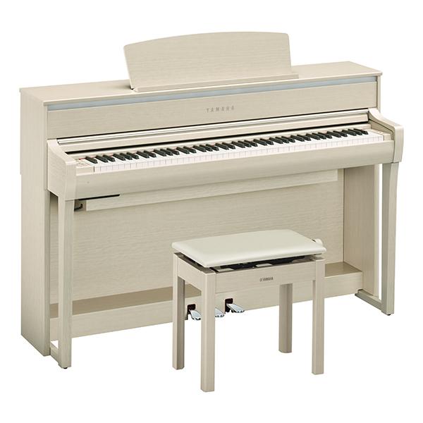 YAMAHA CLP-675WA【ホワイトアッシュ調】 【電子ピアノ】※代金引換はご利用頂けません。