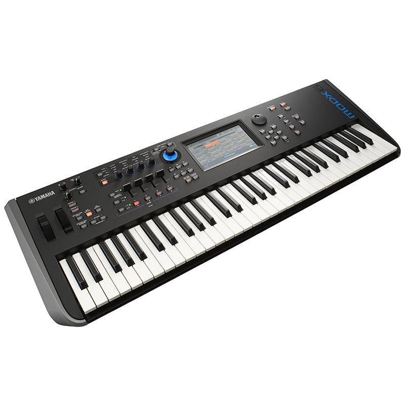 YAMAHA MODX6【61鍵盤】【MONTAGE直系・軽量シンセ】【p5】