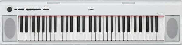 YAMAHA piaggero NP-12WH(ホワイト) 【ピアジェーロ・61鍵盤】【配送センター出荷・土日、祝日は発送休業】※お届け時間帯指定いただけます