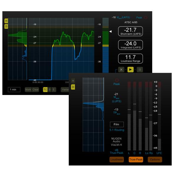 NUGEN Audio NUGEN VisLM-H 2 Loudness 2 Meter【オンライン納品専用 Loudness】※代金引換はご利用頂けません。, オートパーツ ダイレクト:e88e8f37 --- sunward.msk.ru