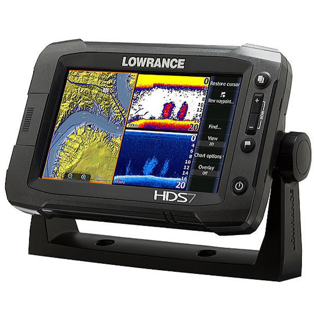 【在庫限り】ローランス/LOWRANCE 魚群探知機/魚探 HDS-7 Gen2 Touch?HDS7 Gen2 Touch?日本語モデル/日本語マニュアル付【即納】送料無料!!在庫一掃セール!!