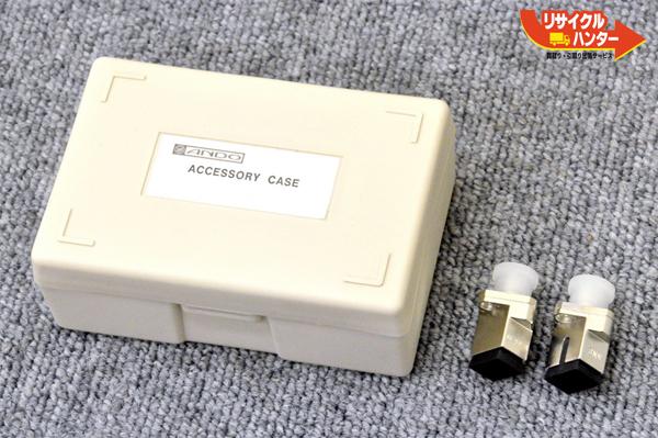 安藤電機 光ファイバ 変換コネクタアダプタ 2個 SC-FC-A SNW ■パワーメーター AQ2150A OTDRに使用可能