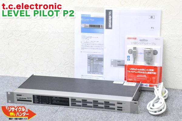 t.c.electronic シグナルプロセッサー LEVEL PILOT P2■ソフト付