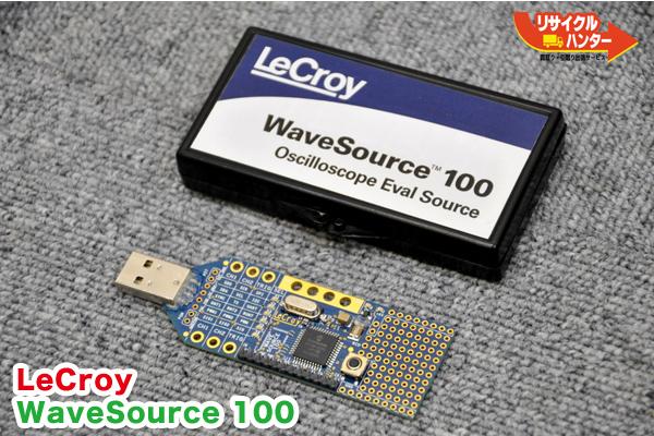 送料無■LeCroy/レクロイ WaveSource 100■オシロスコープ