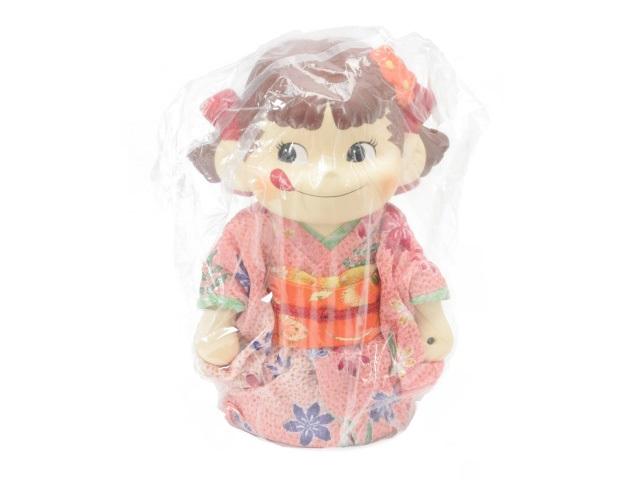 【未使用品】【送料無料】着物ペコちゃん人形 2005年ひなまつり 桜花爛漫中古